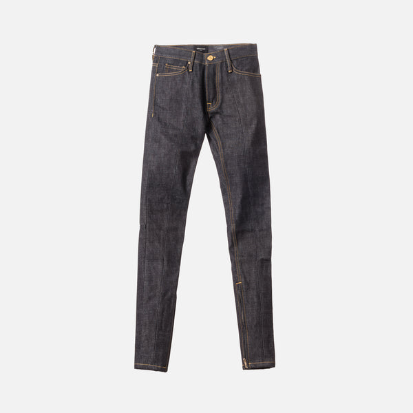 Fear of God 5th Collection Selvedge Paneled Denim - Dark Indigo
