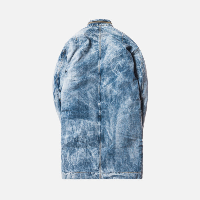 Fear of God 5th Collection Selvedge Denim Holy Water Alpaca Deck Coat - Light Blue