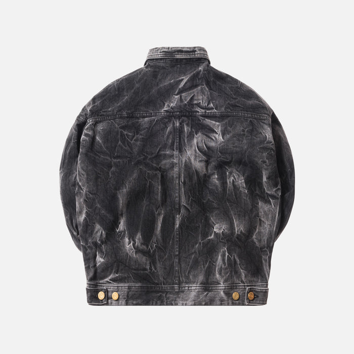Fear of God 5th Collection Selvedge Denim Holy Water Trucker Jacket - Black