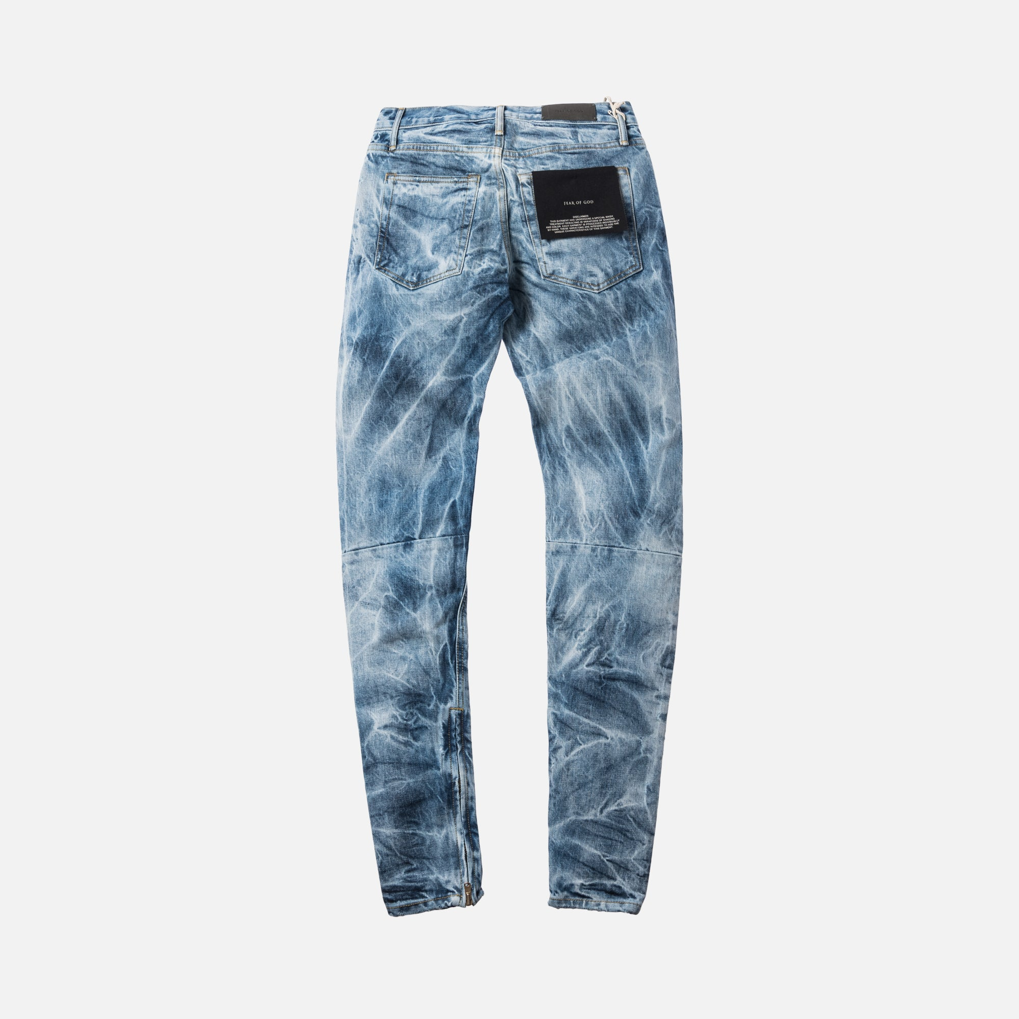 Fear Of God 5th Collection Selvedge Denim Holy Water Jean - Indigo