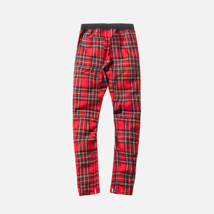 Fear of God 5th Collection Tartan Wool Plaid Trouser - Red