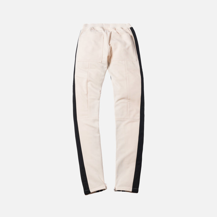 Fear Of God Double Stripe Track Pant W/ Tab - Cream / Black