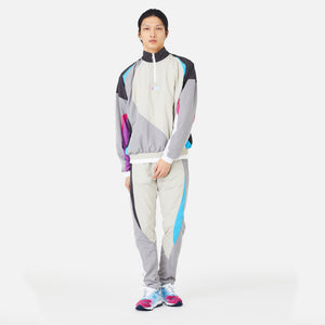 Kith x New Balance Nylon Windbreaker Track Pant - Grey Multi