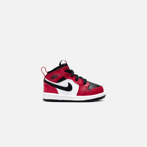 Nike Air Jordan 1 Mid Toddler - Black / Gym Red