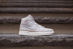 Nike WMNS Air Jordan 1 Retro High Premium - Desert Sand / Metallic Red Image 1