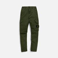 Stone Island Garment Dyed Broken Twill Pant - Olive Thumbnail 1