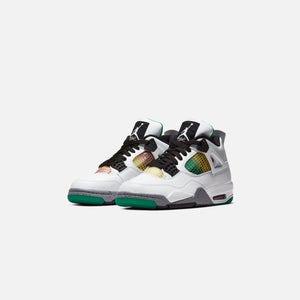 Nike WMNS Air Jordan 4 Retro - White / Black / University Red Image 2