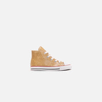 Converse Toddler Chuck Taylor All Star Hi - Gold / Enamel Red / White Thumbnail 1