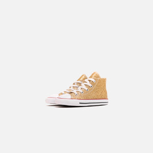 Converse Toddler Chuck Taylor All Star Hi - Gold / Enamel Red / White Image 2