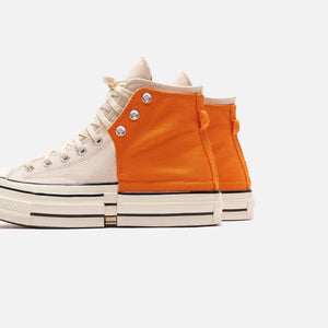 Converse x Feng Chen Wang CT70 - Orange / Natural Image 4
