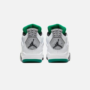 Nike WMNS Air Jordan 4 Retro - White / Black / University Red Image 3