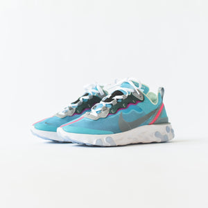 Nike React Element '87 - Royal Tint / Black / Wolf Grey / Solar