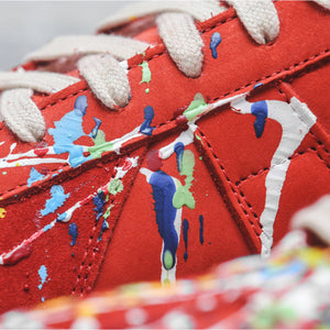 Margiela Mix Painter Replica Sneaker - Red
