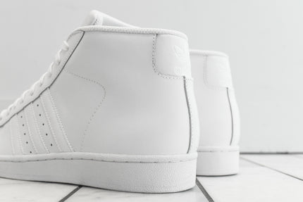 adidas Originals Pro Model - Triple White