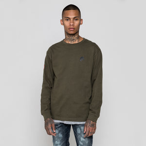 Kith Peace Force L/S Tee - Olive
