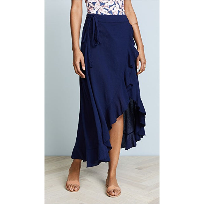 9Seed Solana Wrap Skirt - Pacific