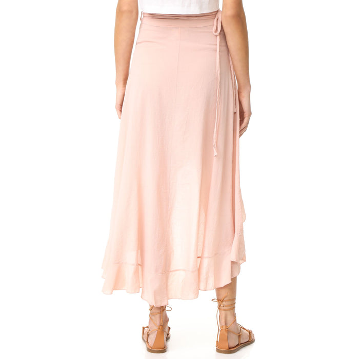 9Seed Solana Wrap Skirt - Dusty Rose