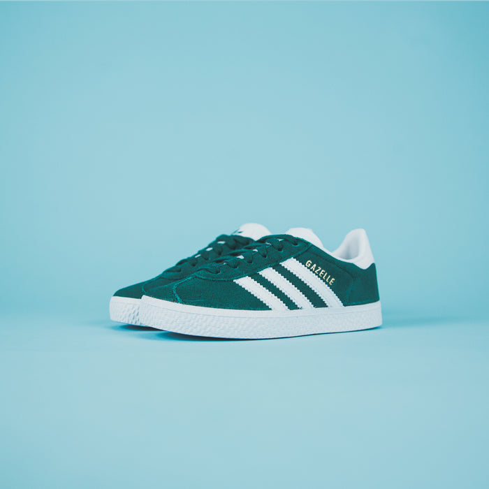 adidas Originals Crib Gazelle - Green / White