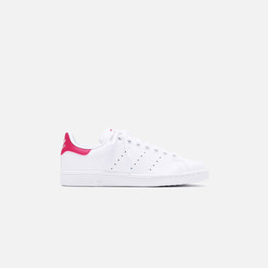 adidas Originals Grade School Stan Smith - White / Pink Image 1