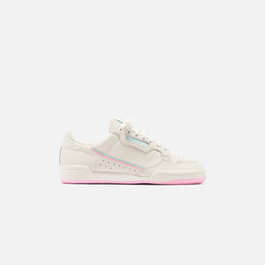 adidas Originals Continental 80 - Off White / True Pink / Clear Mint