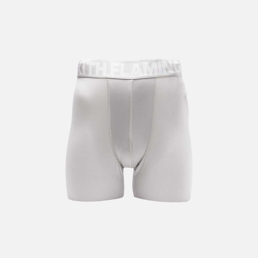 Kith x adidas Soccer Compression Shorts - Flamingos Away
