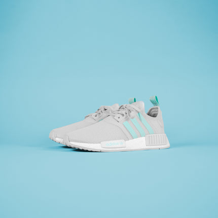 adidas Junior NMD R1 - Grey / Mint / White