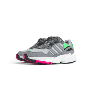 adidas Originals Junior Yung-96  - Grey Two / Grey Three / Shock Pink