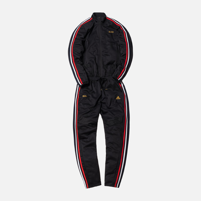 Kith x adidas Soccer One Piece Flightsuit - Black