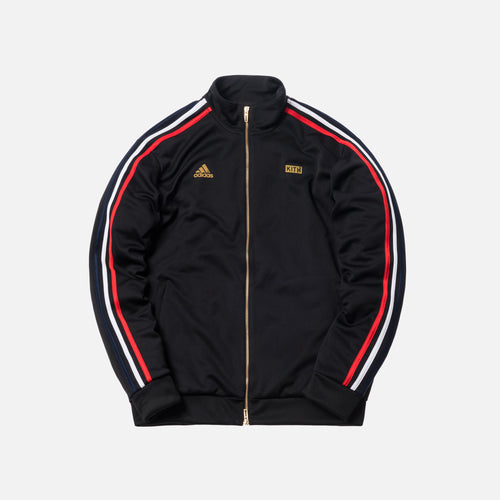 Kith x adidas Soccer 3-Stripes Track Jacket - Black