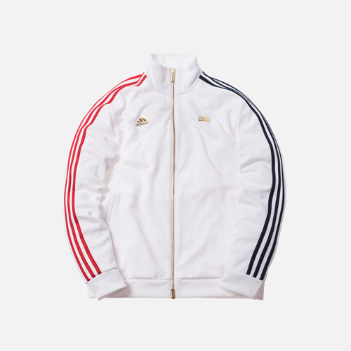 Kith x adidas Soccer 3-Stripes Track Jacket - White