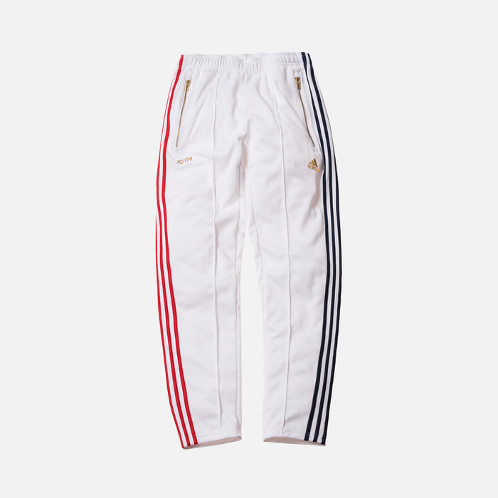 Kith x adidas Soccer 3-Stripes Track Pant - White
