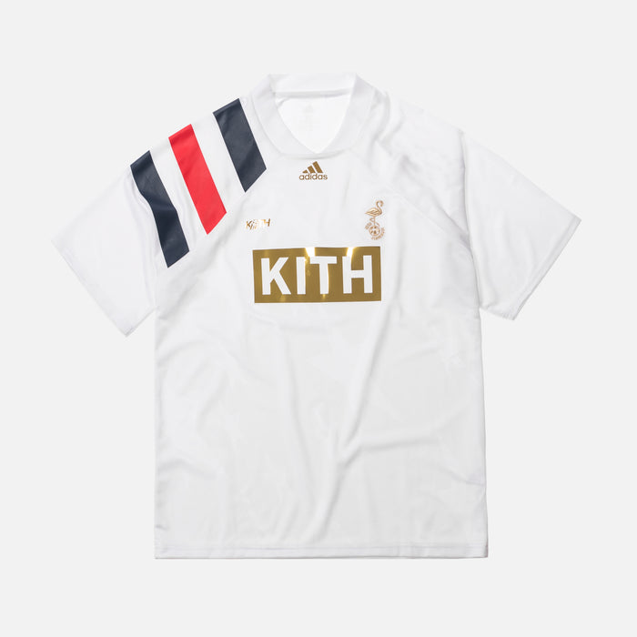 Kith x adidas Soccer Match Jersey - Flamingos Home