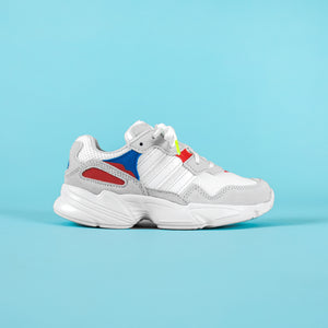 adidas Falcon - White / Crystal White / Active Red