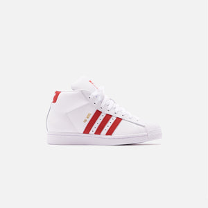 adidas Originals Pro Model - White / Scarlet / Chalk White Image 1