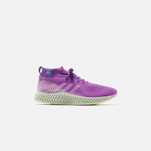 adidas x Pharrell Williams 4D Runner Mid - Purple Image 1
