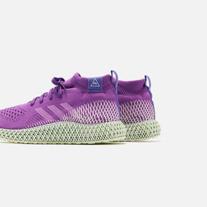 adidas x Pharrell Williams 4D Runner Mid - Purple Image 3