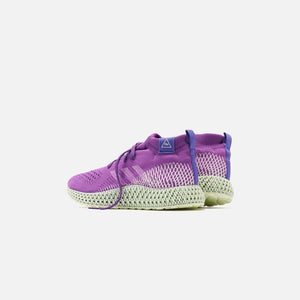 adidas x Pharrell Williams 4D Runner Mid - Purple Image 4