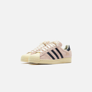 adidas Superstar - Pink Tint / Core Black / Off White Image 2