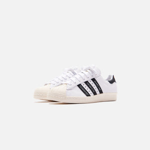 adidas Consortium x Human Made Superstar 80s - White / Core Black / Off White