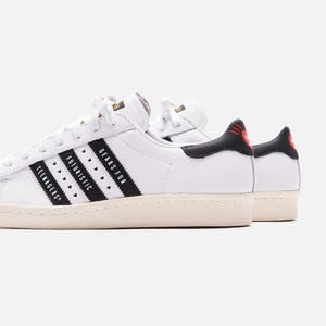 adidas Consortium x Human Made Superstar 80s - White / Core Black / Off White Image 5