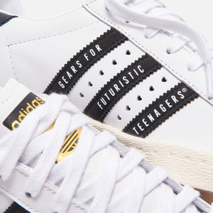 adidas Consortium x Human Made Superstar 80s - White / Core Black / Off White Image 7