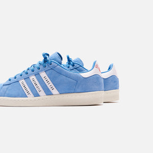 adidas Consortium x Human Made Campus - Light Blue / White / Off White Image 4