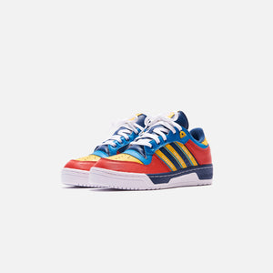 adidas Consortium x Human Made Rivalry - Night Marine / Cloud White / Bold Aqua Image 5