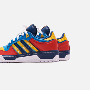 adidas Consortium x Human Made Rivalry - Night Marine / Cloud White / Bold Aqua Image 4