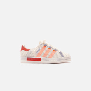 adidas Consortium x Craig Green Superstar - Off White / Bright Red / Grey