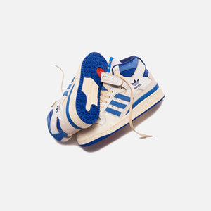 adidas Forum 84 High - Blue Thread / Off White / Bright Blue