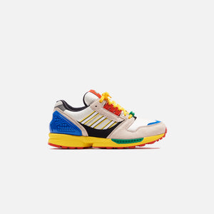 adidas x Lego ZX 8000 - Yellow / Brown / White