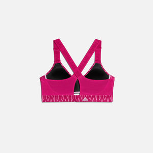 adidas x Ivy Park Monogram Cut Out Bra Medium Support - Pink