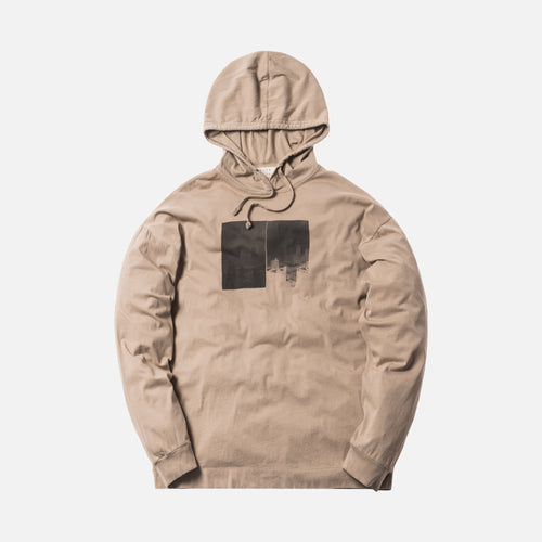 Alyx Studio L/S Hooded Tee - Taupe