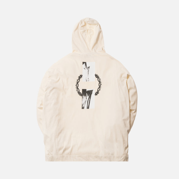 1017 ALYX 9SM Flag In Thorn Hooded Tee - Off White